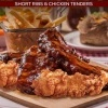 Chicken Tenders & Short Ribs